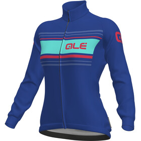 Alé Cycling Solid Sinuosa Longsleeve Jersey Women blue light-fluo pink